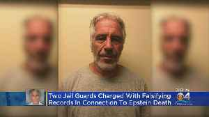 Two Jail Guards Charged With Falsifying Records In Connection To Epstein Death [Video]