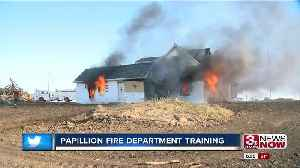 Papillion Fire Department training [Video]