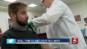 Flu shots given out at Fight Flu TN event [Video]