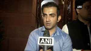 Arvind Kejriwal has entirely blamed stubble burning for air pollution Gautam Gambhir [Video]