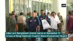 India, Bangladesh teams arrive in Kolkata for 2nd Test [Video]