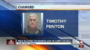 TSA finds handgun in carry-on bag at Southwest Florida International Airport [Video]