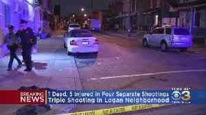 Police: 1 Dead, 5 Injured In Philadelphia Shootings [Video]