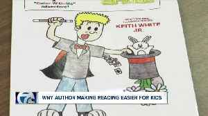 WNY author writes books to make reading easier for kids with ADHD [Video]