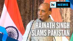 News video: 'Pakistan's nefarious activities won't go on for long': Rajnath Singh