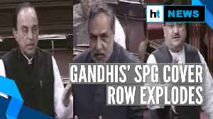 Gandhis' SPG cover removal row explodes in Rajya Sabha: Who said what [Video]