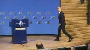 A tense meeting for NATO after 'brain death' comments [Video]