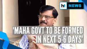 'Govt formation process will be over in the next few days': Sanjay Raut [Video]