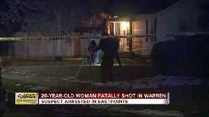 Woman, 20, shot and killed at home in Warren [Video]