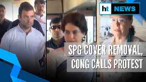 Gandhis' SPG cover row: Congress to protest at Jantar Mantar on Nov 22 [Video]