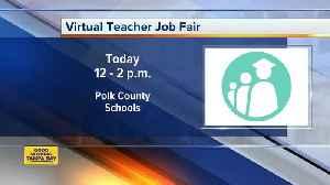 Polk County holding virtual job fair for teaching positions on Wednesday [Video]