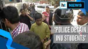 Visually-impaired JNU students call for protest in Delhi, detained by police [Video]