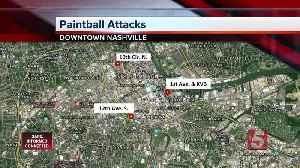 News video: Police: Three hurt in 'random' paintball attack in Nashville