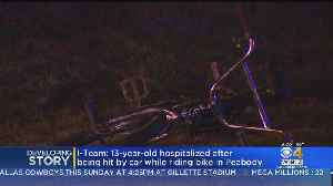 13-Year-Old Bicyclist Hit By Car In Peabody [Video]