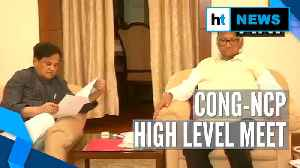 Watch: After PM Modi meet, Sharad Pawar discusses Maharashtra with Congress [Video]