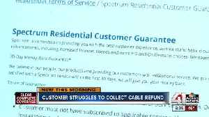 Customer struggles to collect cable refund [Video]