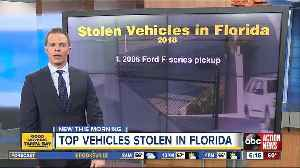 Toyota and Honda cars among most stolen vehicles in Florida [Video]