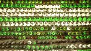 Woman Builds House Out of More Than 6,000 Glass Bottles [Video]