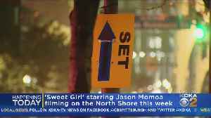 New Movie Starring Jason Momoa Films On North Shore [Video]