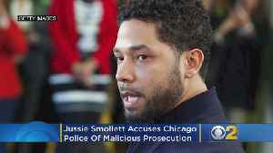Jussie Smollett Accuses Chicago Police Of Malicious Prosecution [Video]