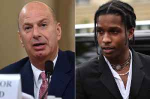 News video: Gordon Sondland Makes A$AP Rocky Focal Point of Impeachment Hearing