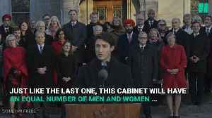 Prime Minister Justin Trudeau Unveils New Cabinet Ministers [Video]