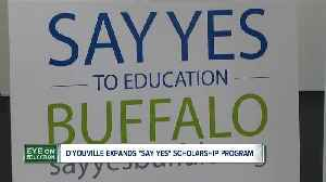 D'Youville offering unlimited number of Say Yes Scholarships [Video]