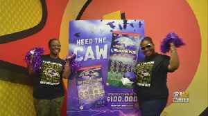 2 Lottery Winners To Travel With Ravens To Los Angeles [Video]