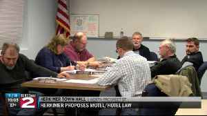 Herkimer proposes new hotel/motel law [Video]