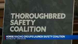 horse racing coalition safety group [Video]