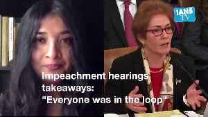 Impeachment Week 2 briefingImpeachment inquiry against US President Trump enters second week [Video]