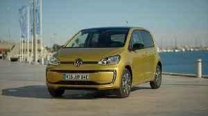 The new Volkswagen e-up! Exterior Design Drive Event in Valencia [Video]