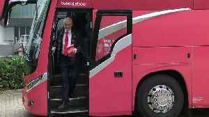 Labour bus arrives in Birmingham for manifesto launch [Video]