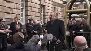 Alex Salmond pleads innocence outside High Court [Video]