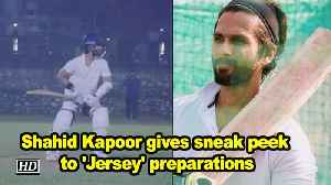 Shahid Kapoor gives sneak peek to 'Jersey' preparations [Video]