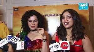 Taapsee Pannu, Bhumi Pednekar celebrate 'Saand ki Aankh' success [Video]