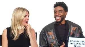 Chadwick Boseman and Sienna Miller Teach You South Carolina and British Slang [Video]