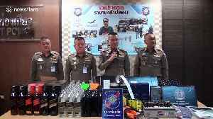 Bootlegger dubbed 'king of fake booze' arrested after supplying moonshine to Thai bars for 30 years [Video]