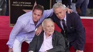 Michael Douglas planning quiet celebration for dad Kirk's 103rd birthday [Video]