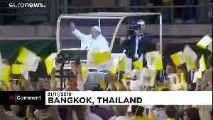 Pope Francis slams use of women & children for prostitution in Thailand [Video]