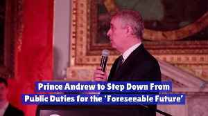 Prince Andrew Is Out Of The Social Circle [Video]