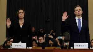 Highlights from Fiona Hill and David Holmes's Impeachment-Hearing Testimonies [Video]