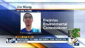 Proposal to ban gas hookups [Video]