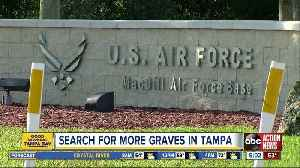 African American graves may be under MacDill Air Force Base, spokesperson says [Video]