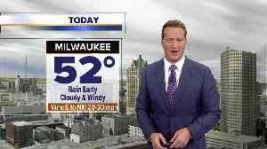 Heavy rain moves through Thursday morning [Video]