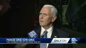 Pence disputes testimony in WISN interview [Video]