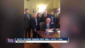 Gov. Evers signs mandatory five-year sentence bill for OWIs involving homicides [Video]