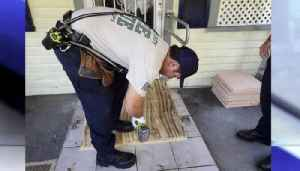 St. Lucie County firefighters build wheelchair ramp for elderly man [Video]