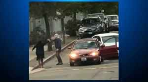 Road Rage Incident After Oakland Elementary School Drop-Off Caught On Video [Video]
