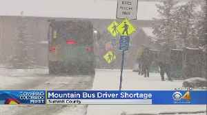 Bus Driver Shortage Hits Summit Stage Commuters [Video]